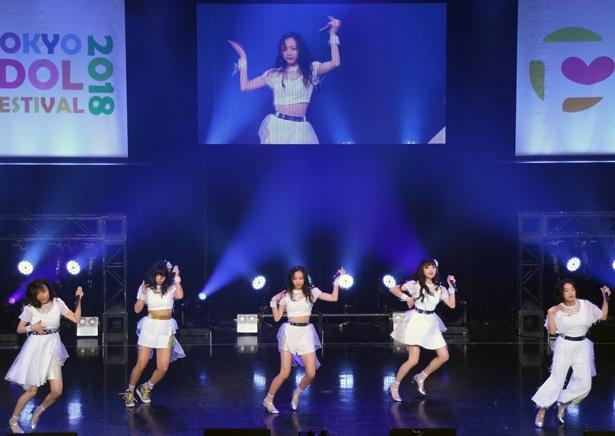 TIF限定コラボユニットを結成したに出演した東京女子流 with 大原優乃