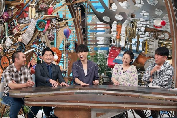 スタジオゲストは藤本敏史(FUJIWARA)、佐藤仁美
