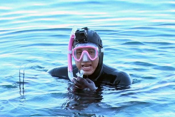 春日俊彰が「春日でなければ…」と振り返った極寒の海での素潜り漁