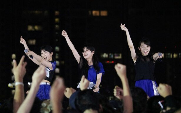 ONEPIXCELがTIF2日目のSKY STAGEに登場!