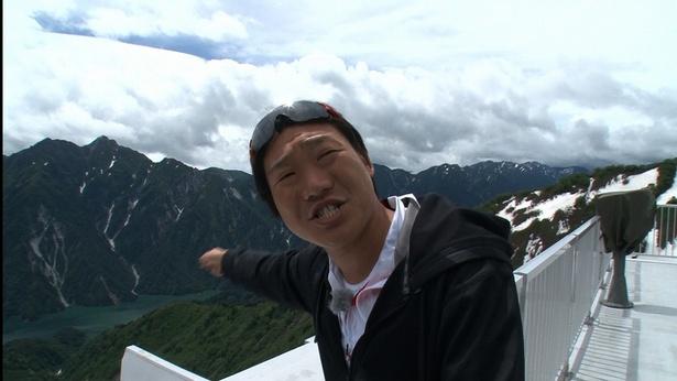 金沢から東京へ約600kmの距離を自転車で進み、絶景を伝えるみやぞん