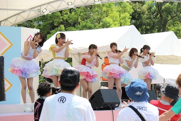 愛乙女☆DOLLが8月5日「TOKYO IDOL FESTIVAL 2018」のSMILE GARDENに登場。安藤笑は同グループとして最後のステージ出演となった