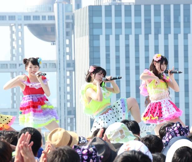 """まずは2015年の""""夏曲""""「THE☆有頂天サマー!!」"""
