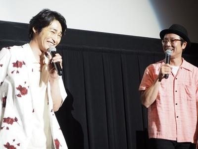 吉田監督のコメントに思わず爆笑してしまう安田顕