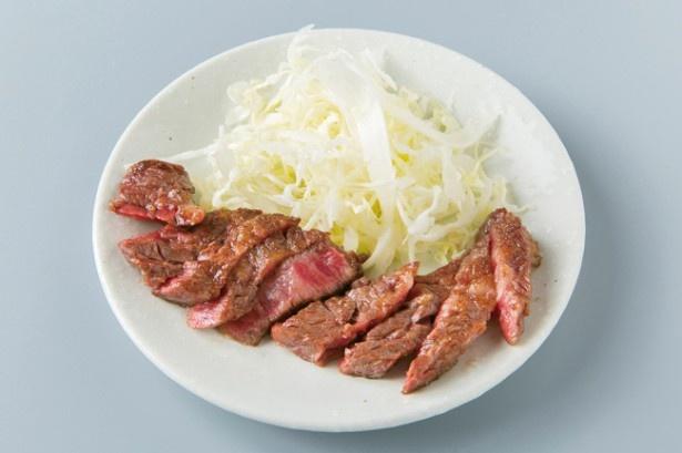ともちゃん / 柔らかく食べ応えのある「牛 サガリ」(1000円~)
