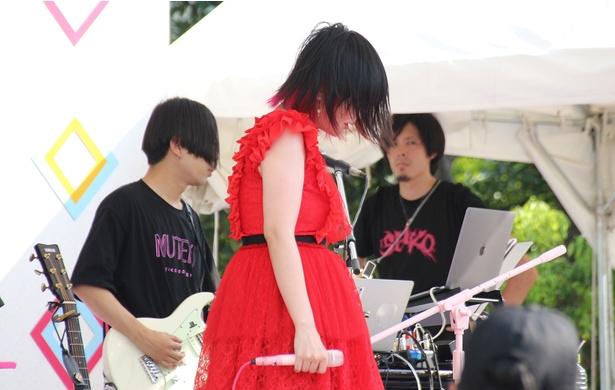 「TOKYO IDOL FESTIVAL 2018」に出演した大森靖子