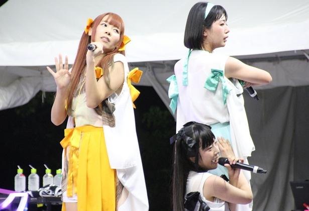 「TOKYO IDOL FESTIVAL 2018」に出演したでんぱ組.inc