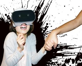「恐怖VRアトラクション つなぐ」メインビジュアル