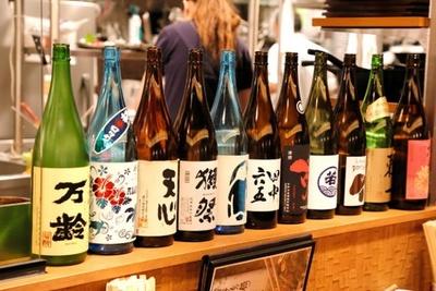 博多もつ鍋 一慶 / 旨いものがあれば、旨い酒が欲しくなる!地酒、日本酒、ワイン各種あり