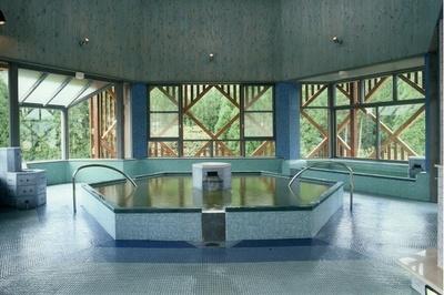 「御前湯」3Fの大浴場。奇数日は男性専用、偶数日は女性専用となる(1Fにも大浴場があり、入れ替え制)