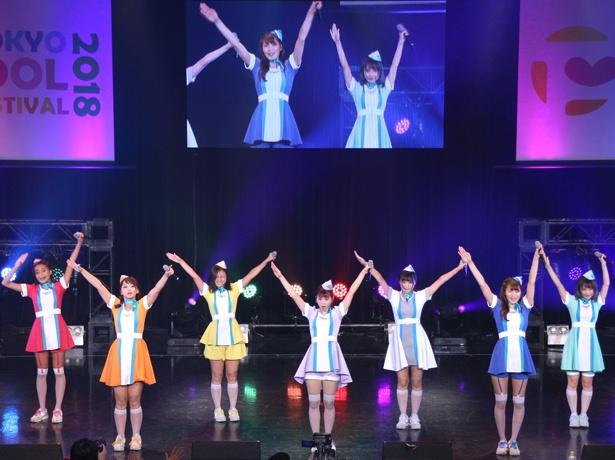 「TOKYO IDOL FESTIVAL 2018」8月5日のHOT STAGEに出演したPASSPO☆