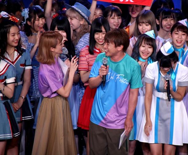 岡田ロビン翔子が過去に優勝した男装コンテストについて「地毛で臨んだ」など細かく話していたが、濱口優だけ「ダンスコンテスト」と勘違いしていたことが判明