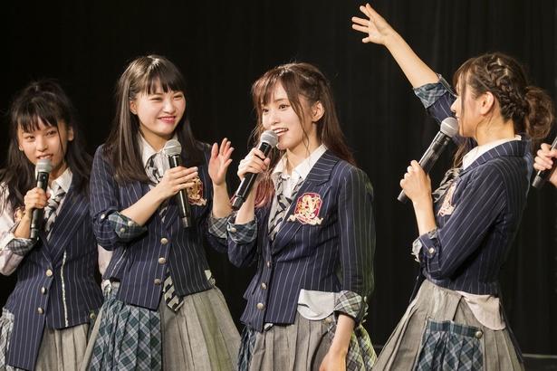 NMB48の「周年ライブ」が関東で開催されるのは初めてとなる ©NMB48