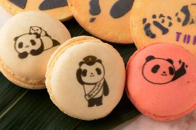 パンダがかわいい上野の新名物!「パンダのマカロン」(5個入り1080円)は、ブールミッシュ エキュート上野店でのみ購入できる