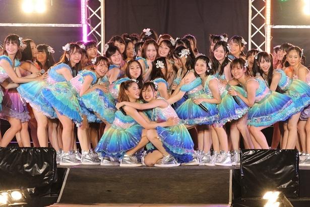 SKE48の夏の恒例イベント「美浜海遊祭2018 SKE48 Special Live Show」が開催された