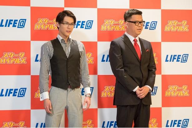 「囲み取材」には、長谷川忍も出演する