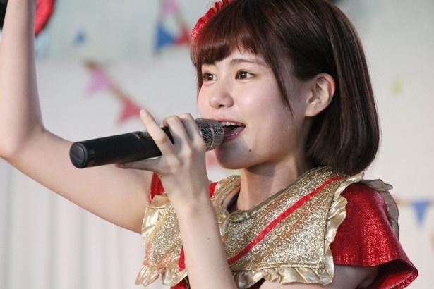るっち(土光瑠璃子)は「夏フェス向きの曲で、多くの人に楽しいと言ってもらい、楽しんでもらえたと思う」