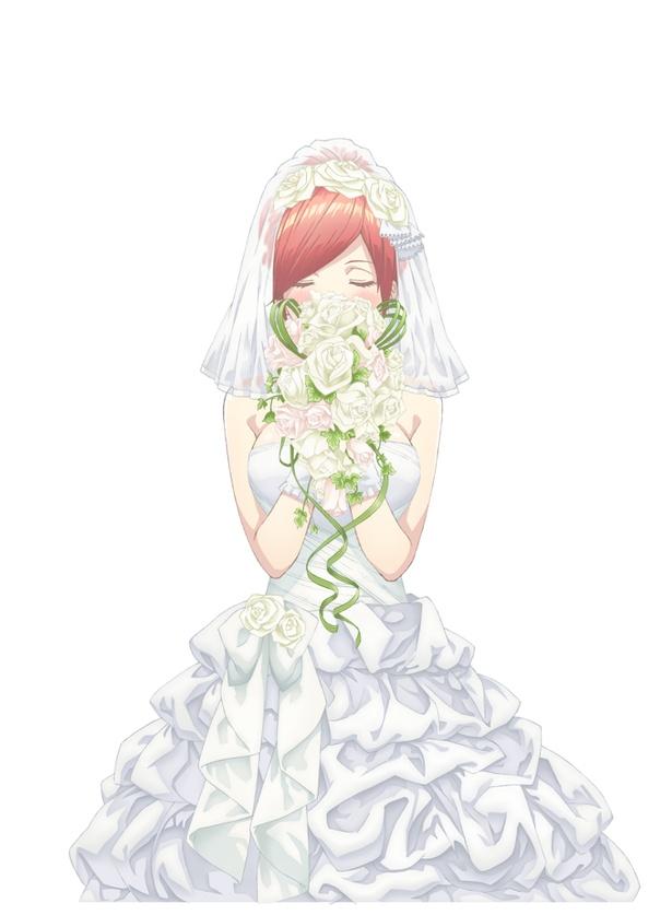 アニメ「五等分の花嫁」(TBSほか)のティザービジュアル
