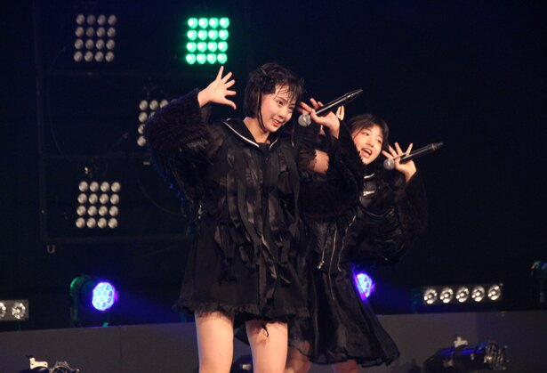There There Theresのカイ、有坂玲菜、平澤芽衣、朝倉みずほ、小島ノエが8月5日、「TOKYO IDOL FESTIVAL 2018」(8月3日~5日、お台場・青海周辺エリア)のDOLL FACTORYに出演した