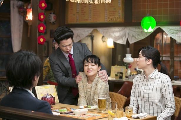 鈴愛が帰ってきたことで、梟会の4人が再会!
