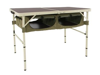 安定感があり、使いやすい高さの「グッドラックテーブル」