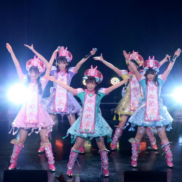 世界にKAWAIIジャパンアイドルカルチャーを発信するアイドル・わーすた