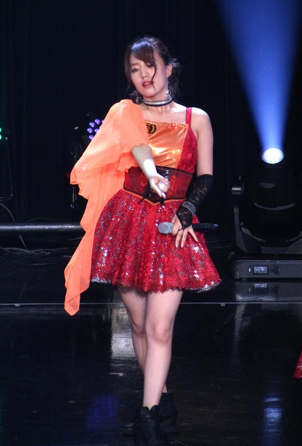 「TOKYO IDOL FESTIVAL 2018」2日目のHOT STAGEに出演したアップアップガールズ(仮)