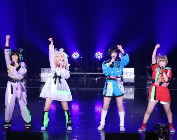「TOKYO IDOL FESTIVAL 2018」2日目のHOT STAGEに出演したゆるめるモ!