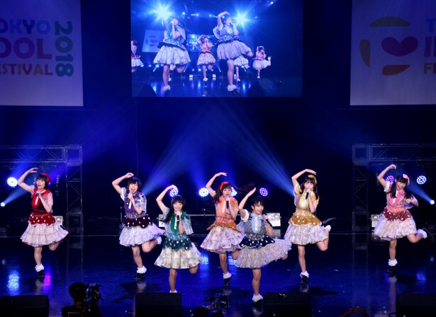 「TOKYO IDOL FESTIVAL 2018」最終日のHOT STAGEに出演したナナランド