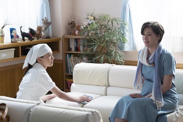 アオイ(清原果耶)に、優しく接していた妊婦・町田真知子(マイコ)が第4話で亡くなる