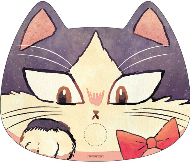 コミックマーケットで配布される「ハルあおぐ!猫型うちわ」