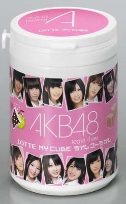 商品のもつかわいらしさが、AKB48のイメージにぴったり!