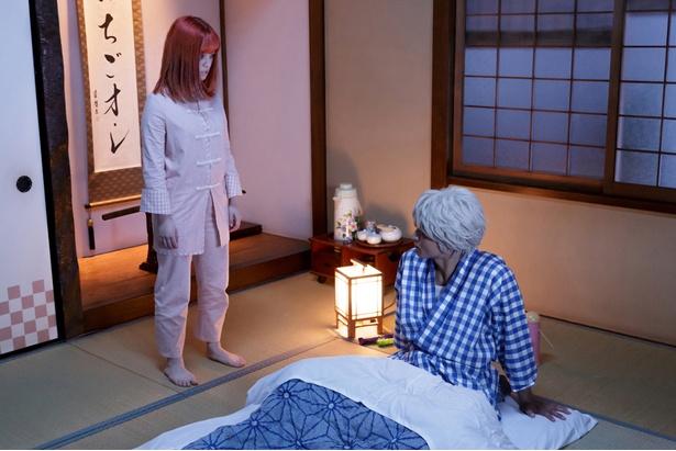 dTVオリジナルドラマ「銀魂2 –世にも奇妙な銀魂ちゃん-」の新予告編と場面写真が公開