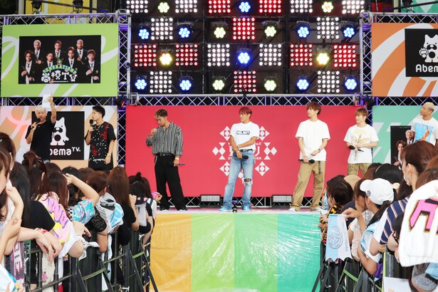 GENERATIONS from EXILE TRIBEがテレ朝夏祭り会場に集結!