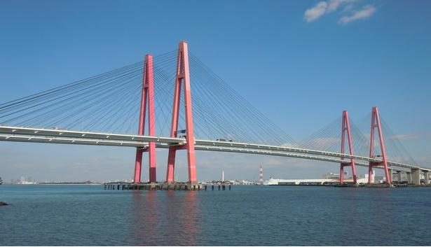 伊勢湾にかかる3つの大橋「名港...