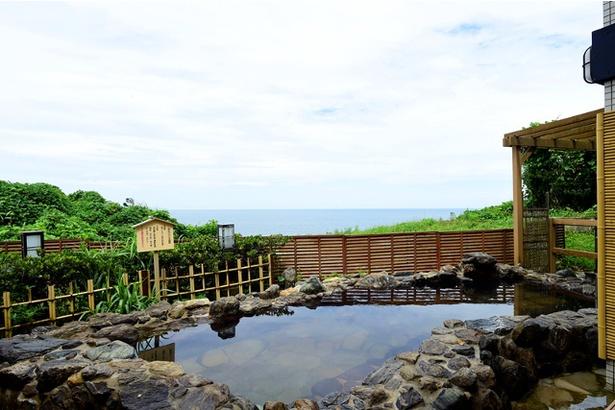 開放感抜群の露天風呂でリフレッシュ