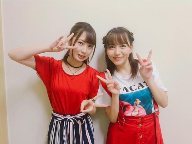 SKE48・高柳明音が大場美奈と「ちゅりかめら展」トークショーを開催