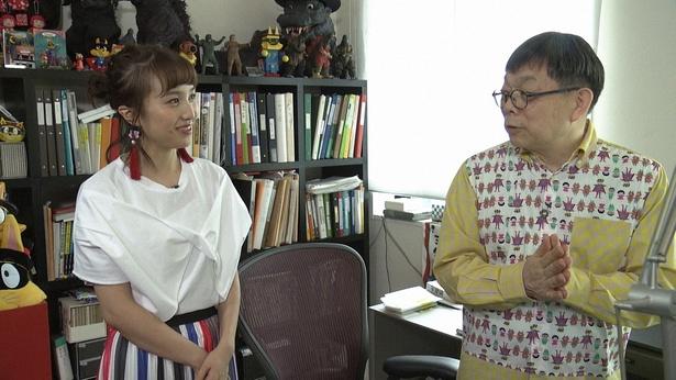 ももクロ百田夏菜子と「かいけゾロリ」の作者原ゆたかが対談!