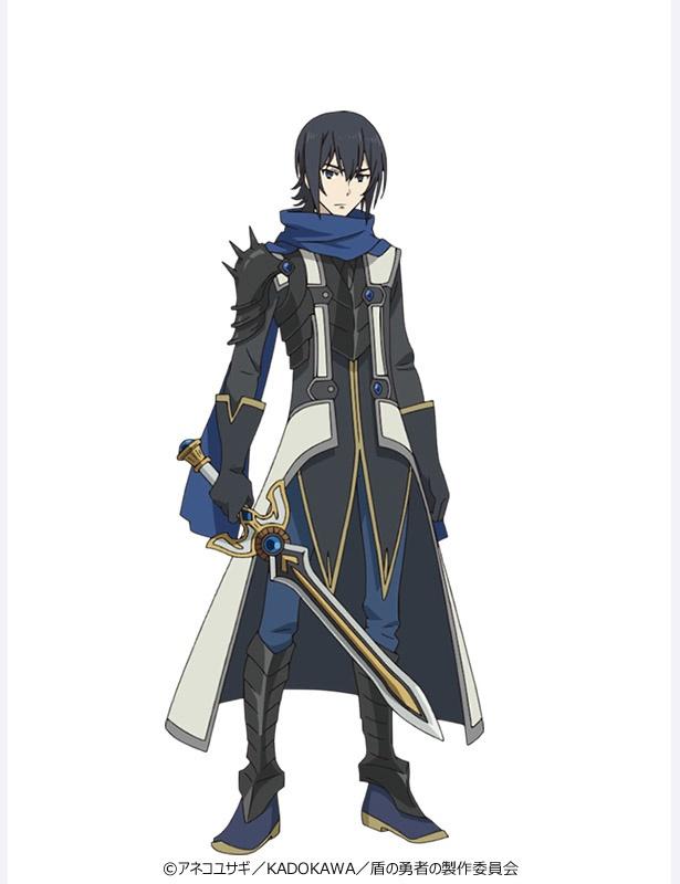 剣の勇者・天木錬。16歳の高校生。小柄だが端正な顔立ちをした美少年。理知的ながらもプライドが高く、他人を見下しがち