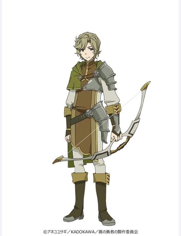 弓の勇者・川澄 樹。17歳の高校生。物腰は柔らかくどこか儚げ。勇者の中でもっとも小柄だが、正義感は人一倍強い。正義を求めるあまり、周囲が見えなくなることも
