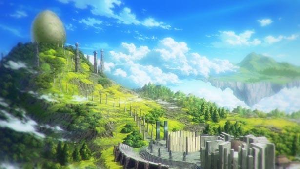 劇場版の天空に浮かぶ王国など、ファンタジーな世界観も魅力
