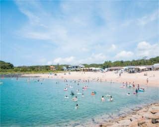 夏休みにおすすめ!海の家が大充実!福岡・糸島「芥屋海水浴場」
