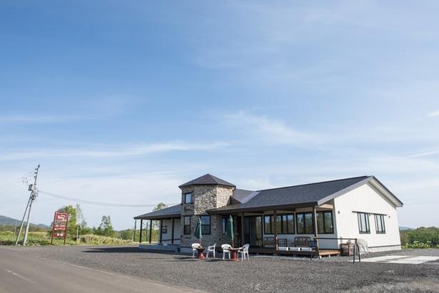 真狩村の中心部を外れた小高い丘の上にある一軒家レストラン