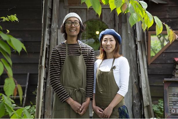 「caféゴリョウ」を営む澤井夫妻