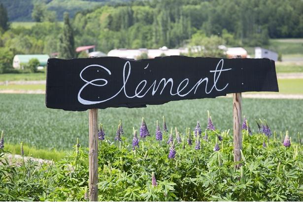 土・風・水・火。自然の要素、エレメントを感じてほしいと命名