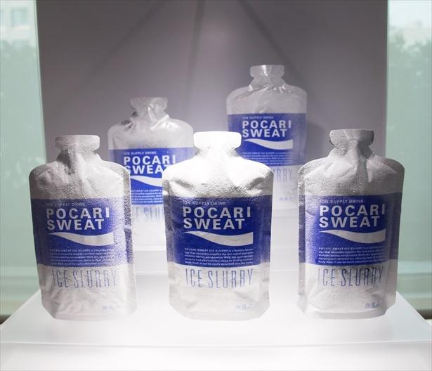 【写真を見る】家庭用冷蔵庫なら約4時間冷凍するとスラリー状に