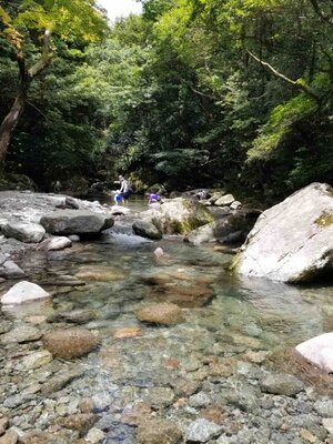 轟峡 / 渓流の水は驚きの透明度!沢遊びを楽しもう