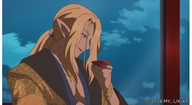 「かくりよの宿飯」第20話の先行カットが到着。強い呪いが澱む竜宮城跡で名前を呼ばれ…