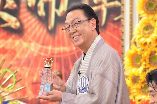 「プレバト!!」(TBS系)のタイトル戦で見事王者に輝いた梅沢富美男