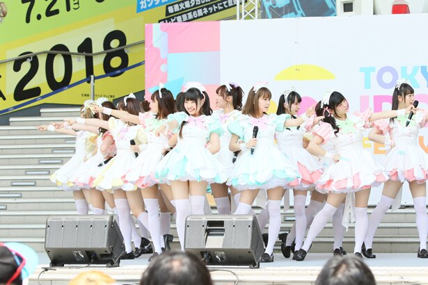 あっとせぶんてぃーんが「TOKYO IDOL FESTIVAL 2018」2日目の8月4日、FESTIVAL STAGEに登場!